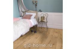 Фото ламината в интерьере Дуб теплый натуральный промасленный U3458 1