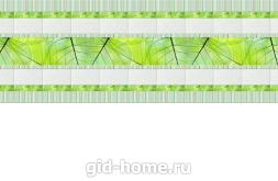 кухонный фартук из ХДФ Кафель листва