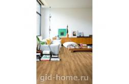 Ламинат Quick Step Loc Floor Plus  Дуб оригинальный 50 в интерьере в Ростове на Дону