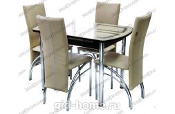 Обеденная группа стол и стулья  № 2