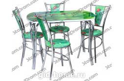 Обеденная группа стол и стулья  № 9