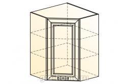 Палермо Шкаф навесной угловой L 600 H 804 (1 дв. гл.)