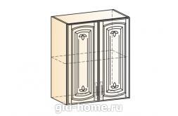 Венеция шкаф навесной L600 H720 (2 двери глухие)