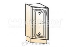 Венеция шкаф рабочий концевой 45 гр. L300 (1 дв. гл.)