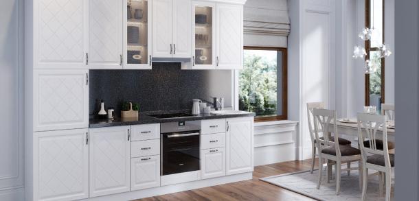 Кухня в силе прованс Кристина Вуд белый фото