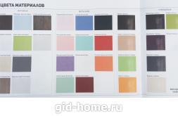 Цвет фасадов МДФ Грани