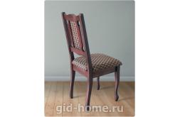 Деревянный стул со спинкой Арина цвет орех ткань 25