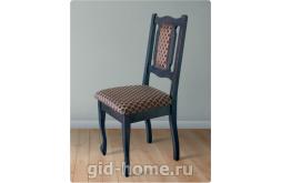 Деревянный стул со спинкой Арина цвет венге ткань 25