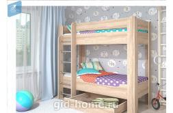 Детская кровать 2 яруса Мийа-4