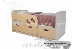 Детская кровать Минима Лего крем