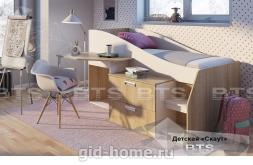 Детская кровать Скаут 1