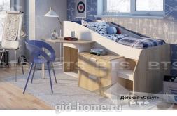 Детская кровать Скаут New