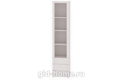 Детский шкаф-стеллаж №7 Твист 388×504×2265