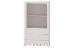 Детский шкаф-стеллаж №8 Твист 388×804×1431