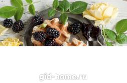 Фартук для кухни из МДФ Ежевика   695х2070х4мм