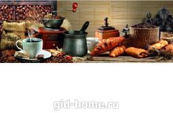 Фартук для кухни из МДФ Кофе арабика   695х2070х4мм