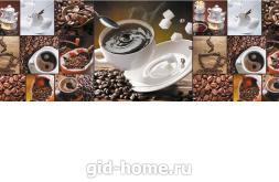Фартук для кухни из МДФ Кофе микс   695х2070х4мм