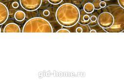 Фартук для кухни из МДФ Круги 610 х 2440 х 3,0 мм