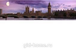 Фартук для кухни из МДФ Вечерний Лондон 610 х 2440 х 3,0 мм