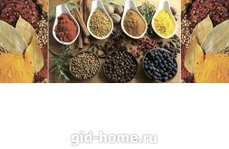 Фартук для кухни из МДФ Восточные пряности   695х2070х4мм