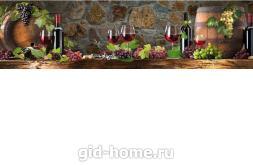 Фартук для кухни МДФ 610 х 2440 х 4 мм ag23