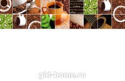 Фартук для кухни МДФ 610 х 2800 х 6 мм глянец akv09
