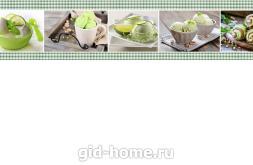 Фартук для кухни МДФ 610 х 2800 х 6 мм глянец  akv  25