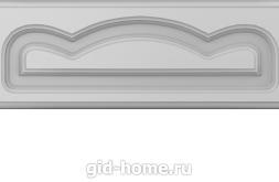Фасад для кухни МДФ фрезеровка Мальва двойная ящик