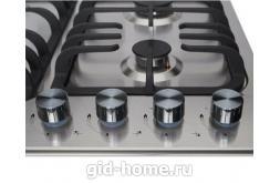 Газовая встраиваемая варочная панель Midea 4 конфорочная MG 687 X фото 1