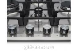 Газовая встраиваемая варочная панель Midea 4 конфорочная MG 697 TX фото 1