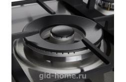 Газовая встраиваемая варочная панель Midea 4 конфорочная MG 697 TX фото 2