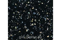 Глянцевая столешница 1113 МО Искра черная