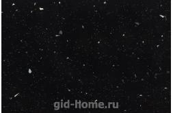 Глянцевая столешница 9144 luc Черный GALAXY