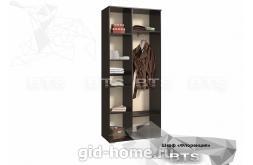 Гостиная Флоренция шкаф ШхВхГ900x2120x440 схема