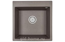 Гранитная мойка для кухни Granula GR-5102 эспрессо 505х510мм