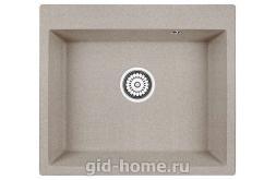 Гранитная мойка для кухни Granula GR-6001 пирит 600х520мм