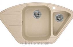 Гранитная мойка для кухни Granula GR-9101 песок 890х490мм