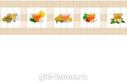 фартук для кухни из ХДФ Кафель чай купить в Ростове