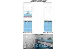 стеновые панели ПВХ для ванной