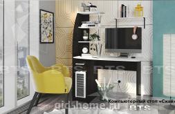Компьютерный стол Скай Ш1100xВ1500xГ585