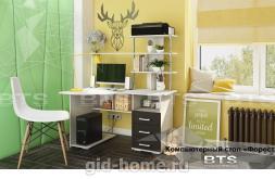 Компьютерный стол угловой Форест Ш1300xВ1500xГ900
