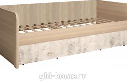 Кровать детская одинарная с ящиками Ультра №12 968×2064×702