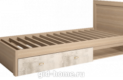 Кровать детская одинарная с ящиками Ультра №5  2068×968×900