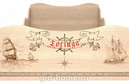 Кровать детская одинарная с ящиком (компл.1) Квест №5 1936×980×758
