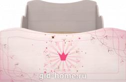 Кровать детская одинарная с ящиком (компл.1) Принцесса №5 1936×980×758