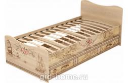 Кровать детская одинарная с ящиком Квест №4  1936×980×850