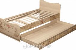 Кровать детская одинарная с ящиком Квест №4  1936×980×850 фото