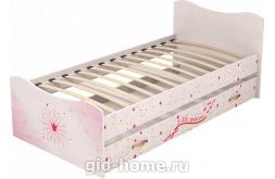 Кровать детская с ящиком Принцесса №4 1936×980×850