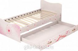Кровать детская с ящиком Принцесса №4 1936×980×850 фото
