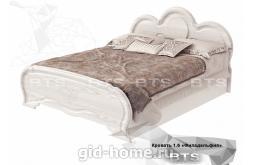 Кровать двухспальная   Филадельфия КР-03 1750x1088x2076